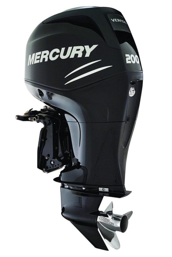 El motor fueraborda Mercury 200