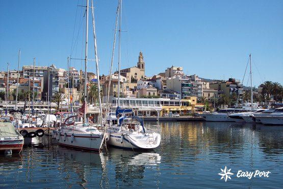 Vista aérea del Puerto Deportivo El Masnou